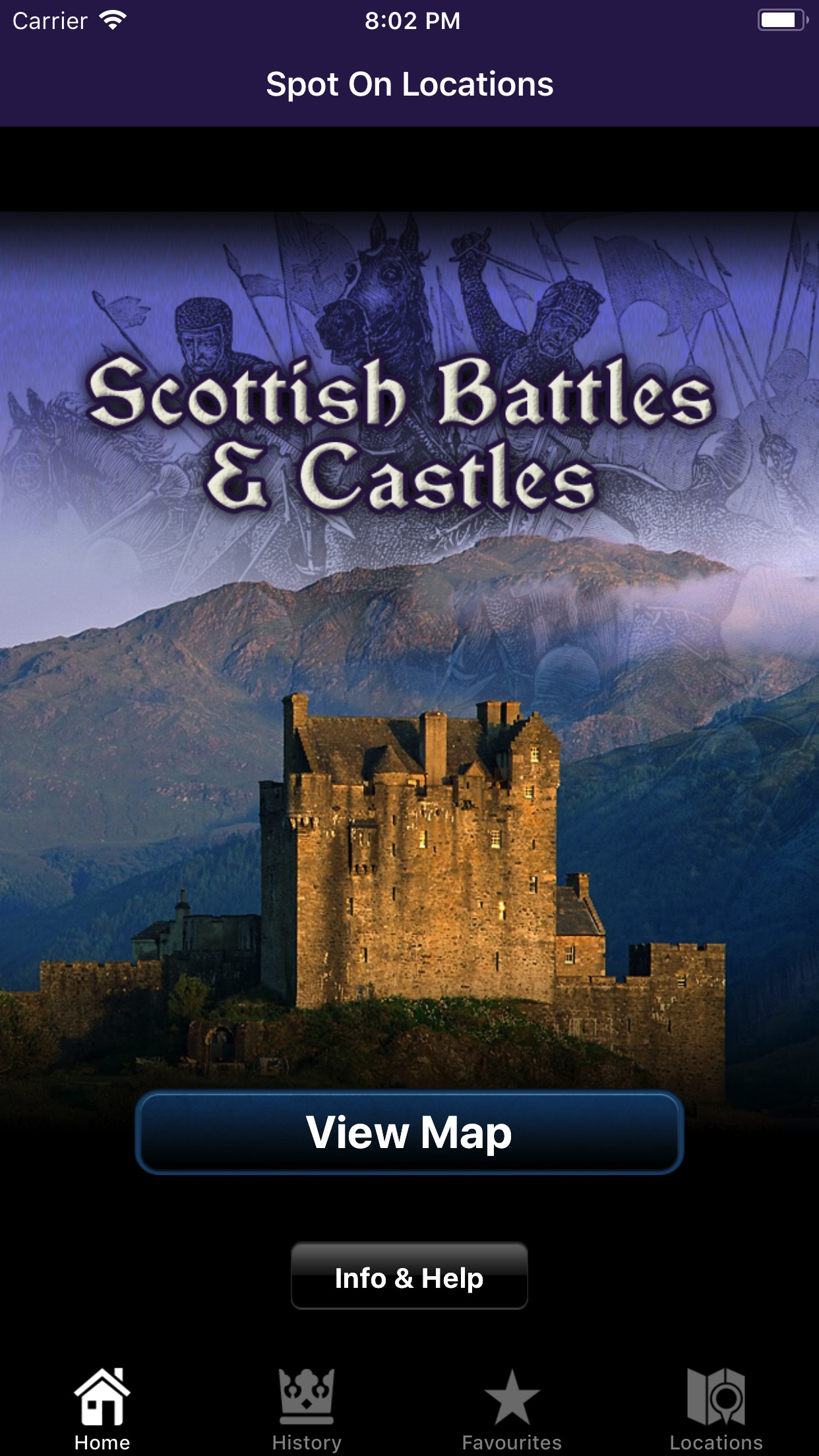 Scottish Battles And Castles
