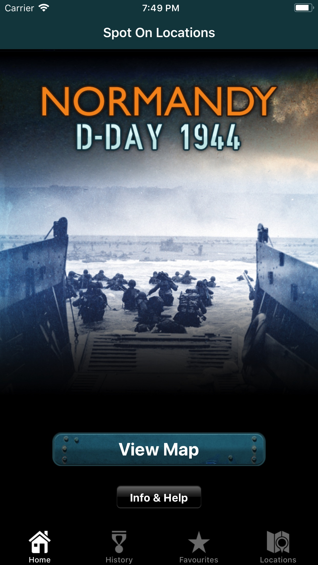 Normandy D-Day 1944 App
